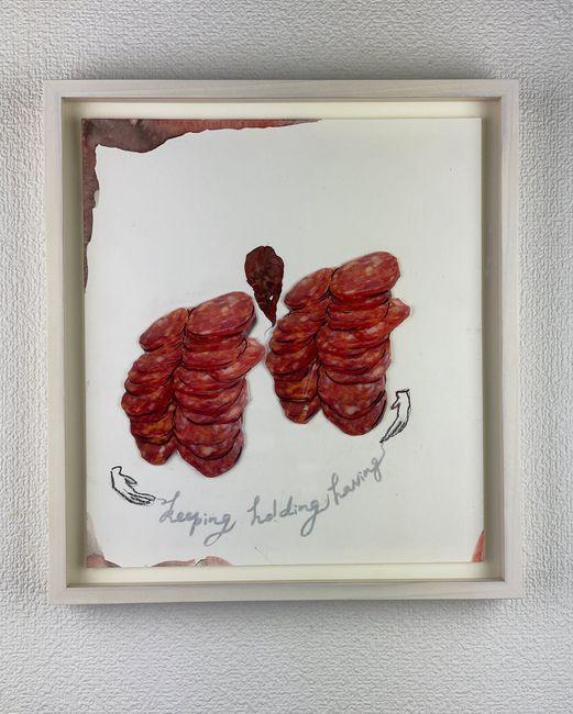 Holding by Kawauchi Rikako contemporary artwork