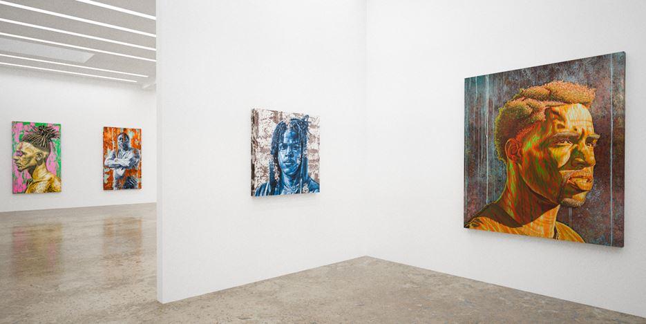 Exhibition view: Alfred Conteh,Our Reality, online exhibition, Kavi Gupta (9 June–31 July 2020). Courtesy Kavi Gupta.