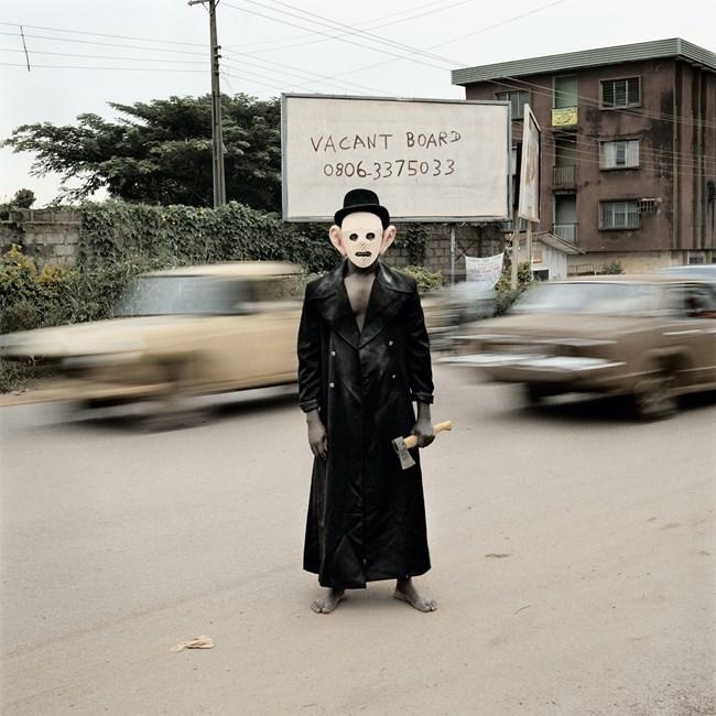 Escort Kama, Enugu, Nigeria from Nollywood by Pieter Hugo contemporary artwork