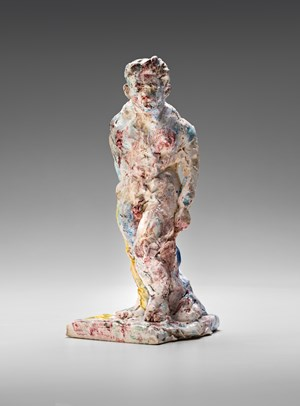 Statue (standing) by Stephen Benwell contemporary artwork