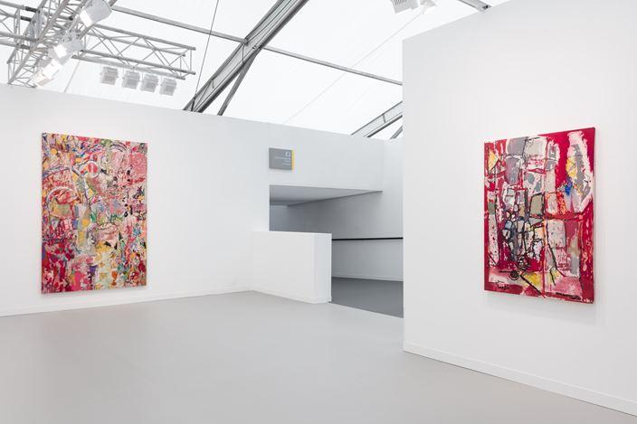 David Kordansky Gallery, Frieze London (3–6 October 2019). Courtesy David Kordansky Gallery. Photo:Mark Blower.
