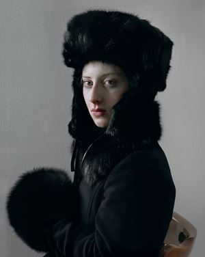 Black Fur by Hendrik Kerstens contemporary artwork