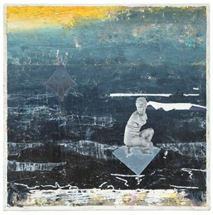 Seestück (Seascape) by Matthias Weischer contemporary artwork