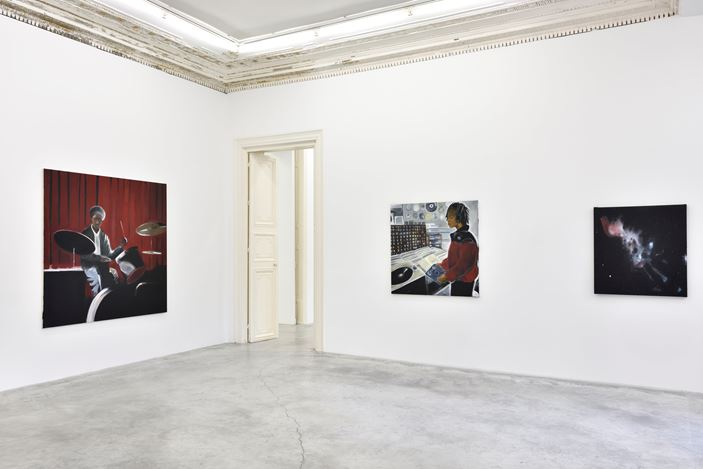 Exhibition view: Madelynn Green, Birth of a Star, Almine Rech, Paris,Turenne (16 January–27 February 2021). © Madelynn Green. Courtesy the Artist and Almine Rech.Photo: Rebecca Fanuele.