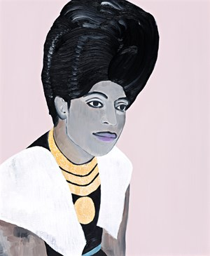 Little Richard by Sally Ross contemporary artwork