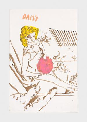No Title (Daisy) by Raymond Pettibon contemporary artwork