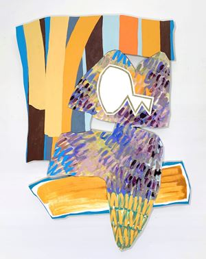 Bookend 11 (Cyclops) by Justine Hill contemporary artwork