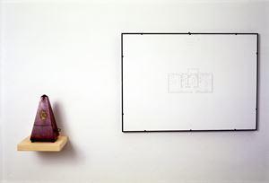 Non siamo mai soli (Metronomo) by Luca Vitone contemporary artwork