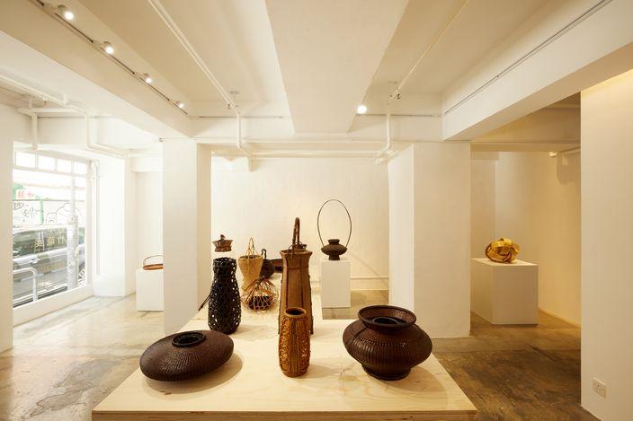 Exhibition view: Japanese Bamboo Baskets, overseen by Masamitsu Saito, SHOP Taka Ishii Gallery, Hong Kong (18 May–27 June 2021). Courtesy Taka Ishii Gallery. Photo: Anthony Kar Long Fan.