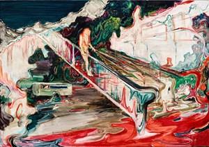 Escalator by Rao Fu contemporary artwork