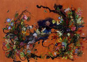 Serendib 13 by Priyantha Udagedara contemporary artwork