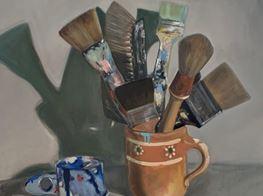 """Ella Kruglyanskaya<br><em>This is a Robbery</em><br><span class=""""oc-gallery"""">Thomas Dane Gallery</span>"""