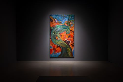 Strange Fruit by Michael Armitage contemporary artwork painting