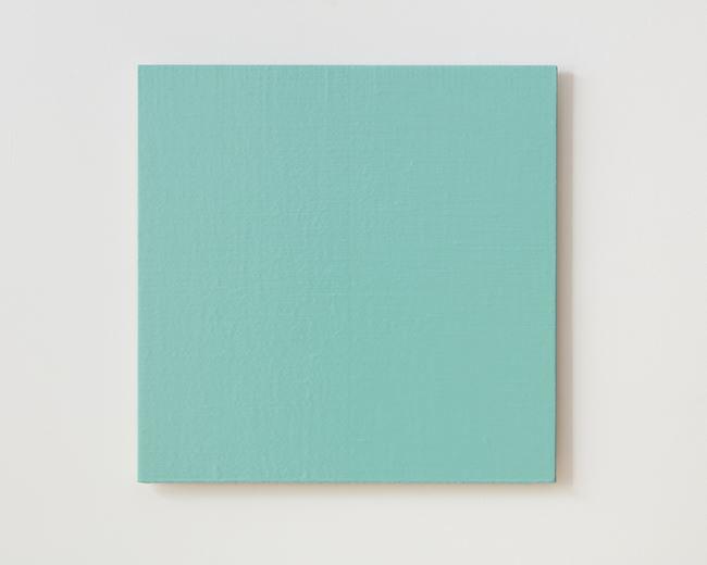 Colour light (blue green) by Simon Morris contemporary artwork
