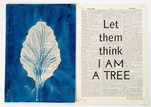 Drawing for Sibyl (Let them think I am a tree) by William Kentridge contemporary artwork works on paper, print