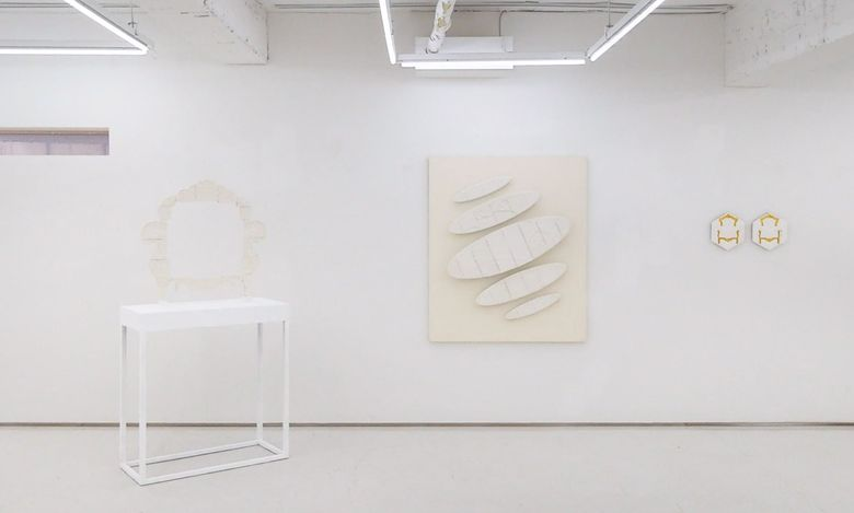 Exhibition view: Yeonju Ham,:Shape of room, Art Delight Gallery, Seoul (3–23 June 2021). Courtesy Art Delight Gallery.