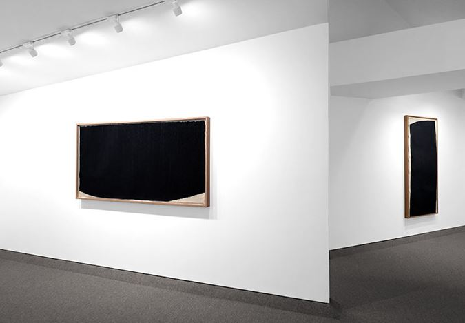 Exhibition view: Richard Serra, Richard Serra: 1985-1996, Krakow Witkin Gallery, Boston (5 January–9 February 2019). Courtesy Krakow Witkin.