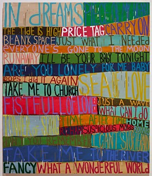 Nearly Perfect by Squeak Carnwath contemporary artwork