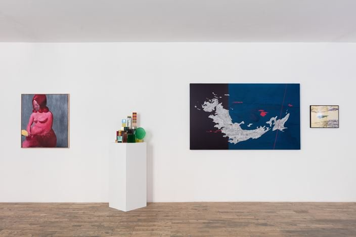 Exhibition view: Group Exhibition,The Order Of Time, HdM GALLERY, Beijing (16 May–4 July 2020). Courtesy HdM GALLERY.