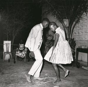 Nuit de Noël (Happy Club) by Malick Sidibé contemporary artwork