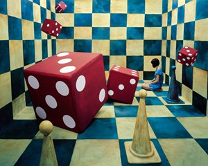Neverending Race by JeeYoung Lee contemporary artwork