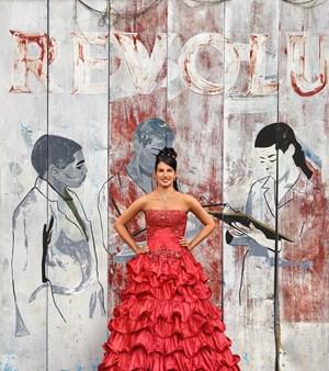 Lisandra de la Caridad Rodríguez Ramayo, La Habana, Arroyo Naranjo, Mantilla by Frank Thiel contemporary artwork