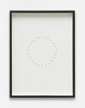 In circles (24h) by Alicja Kwade contemporary artwork