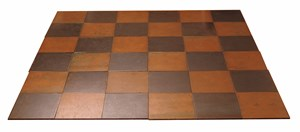 Copper-Steel Plain by Carl Andre contemporary artwork