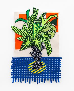 Houseplant by Jody Paulsen contemporary artwork