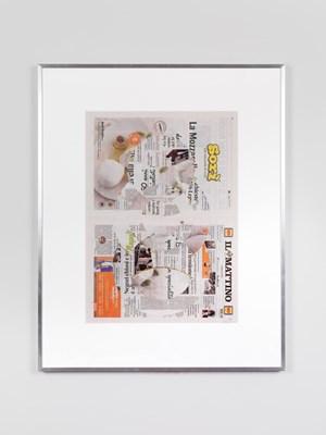 Il Mattino, Martedì 11 Settembre 2018 by Walead Beshty contemporary artwork