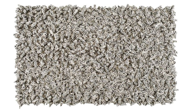 Chun Kwang Young, Aggregation 94–AU017, (1994). Mixed media with Korean Mulberry paper. Courtesy Pearl Lam Galleries.