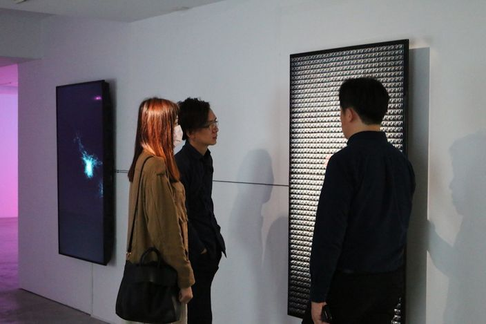 Exhibition view: Huang Yu-Hsiung, Encoding and Decoding,VT Artsalon, Taipei (27 February–2 April 2021).CourtesyVT Artsalon.
