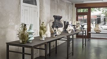 Contemporary art exhibition, Johannes Nagel, I hardly ever thought of Flowers at Brutto Gusto, Berlin, Germany