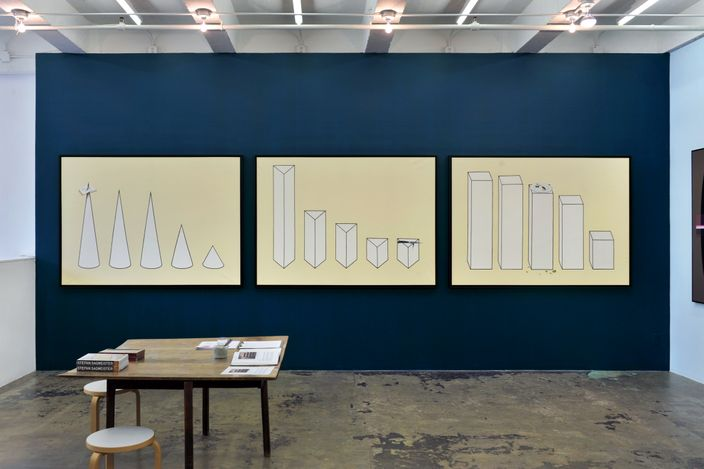 Exhibition view: Stefan Sagmeister, Beautiful Numbers, Thomas Erben Gallery, New York (10 April–15 May 2021). Courtesy Thomas Erben.