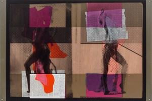 """""""Il est bien juste que je ne me possede pas (Chap.101)"""" by Anne-Mie Van Kerckhoven contemporary artwork"""