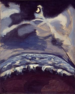 THE SEA by Alice Neel contemporary artwork