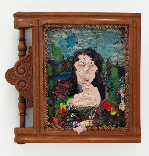untitled (Mona Lisa) by Gelatin contemporary artwork