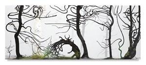 Forrest Tableau by Inka Essenhigh contemporary artwork
