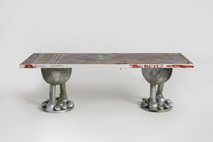 Doodly Long Table#33 by Zhou Yilun contemporary artwork