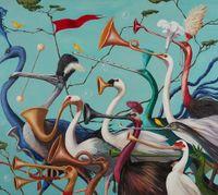 Hurly Burly by Joanna Braithwaite contemporary artwork painting