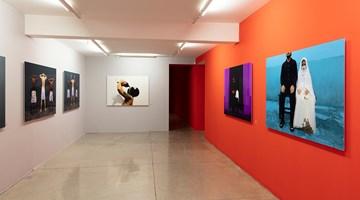 Contemporary art exhibition, Berna Reale, GULA at Galeria Nara Roesler, São Paulo, Brazil