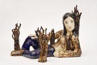 Girlforest by Klara Kristalova contemporary artwork sculpture