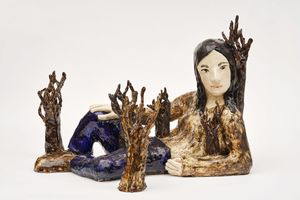 Girlforest by Klara Kristalova contemporary artwork