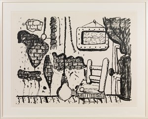 East Side by Philip Guston contemporary artwork
