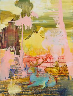 Orpheus (after Hans-Beu) by Adrienne Gaha contemporary artwork