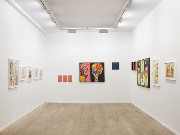 Exhibition view:Sérgio Sister, Then and Now,Galeria Nara Roesler, New York (29 October 2019–8 February 2020). Courtesy the artist and Galeria Nara Roesler.Photo: © Pierce Harrison.