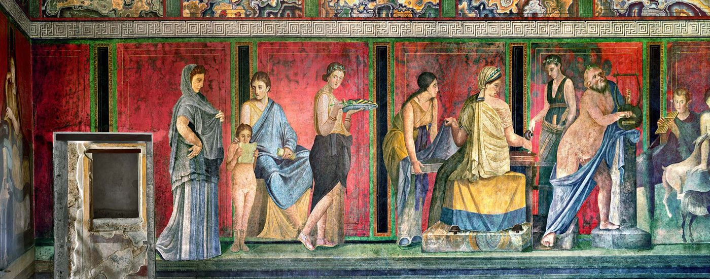 Robert Polidori CapturesPompeii's Villa dei Misteri