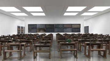 Contemporary art exhibition, Ibrahim Mahama, Lazarus at White Cube, Bermondsey, London, United Kingdom