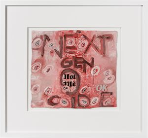 next gen-o-cide by Fiona Hall contemporary artwork painting, sculpture