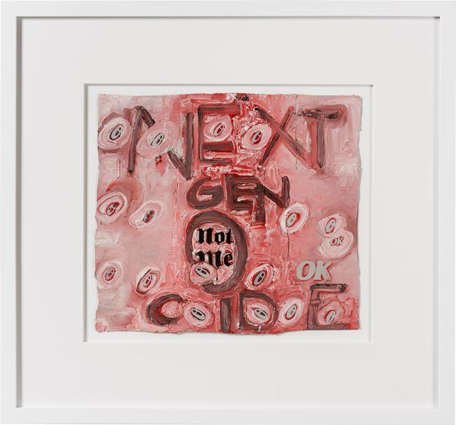 next gen-o-cide by Fiona Hall contemporary artwork